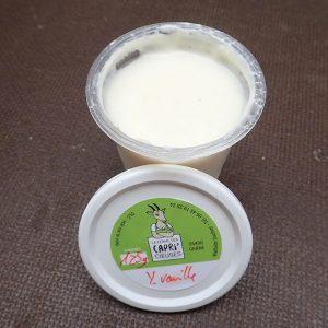 yaourt vanille
